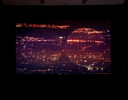 orbite rosse (red orbits), installation view 5 by grazia toderi
