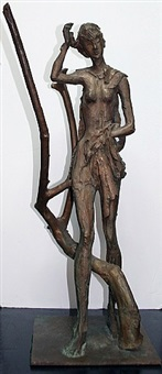 untitled (nude bronze) by nicola simbari