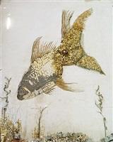 goldfish (scrap metal) by vik muniz