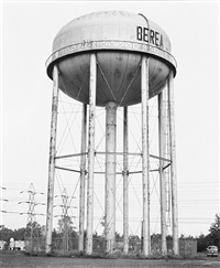 water tower, berea, ohio, u.s.a. by bernd and hilla becher