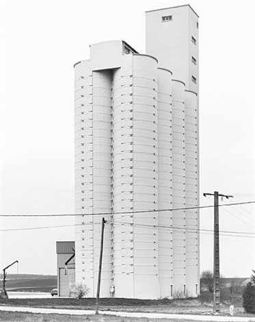 grain elevator, rethel, france by bernd and hilla becher