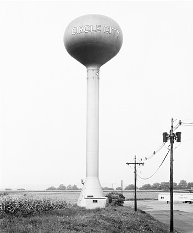 water tower, circle city, new jersey, u.s.a. by bernd and hilla becher