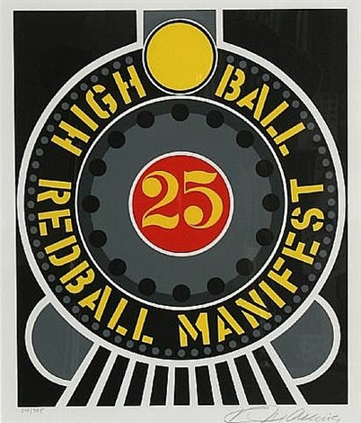 high ball redball (the american dream) by robert indiana