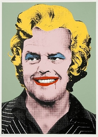 marilyn nicolson by mr. brainwash