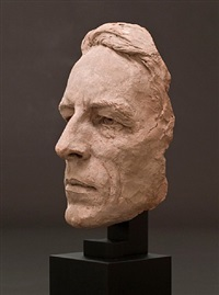 portrait mask of robinson jeffers by jo davidson