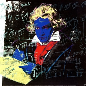 beethoven 390 by andy warhol