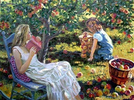 under the apple tree by h. gordon wang