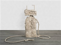 petrified petrol pump by allora and calzadilla