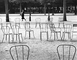 chairs of paris by andré kertész
