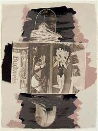 hollywood sphinx - illegal tender l.a.</br>betty boop by robert rauschenberg