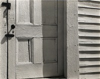 church door, hornitos, 1940 by edward weston