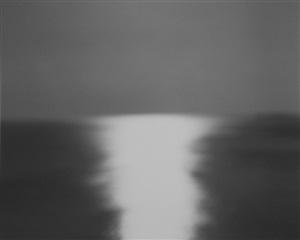 bay of sagami, atami, 1997 by hiroshi sugimoto