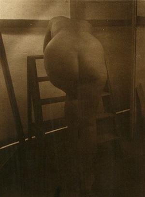 in the studio, 1953 by josef sudek