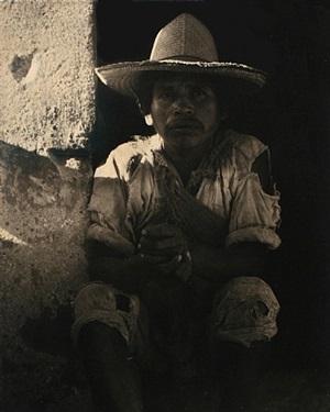 man, ixmaquiepan, mexico, 1933 by paul strand
