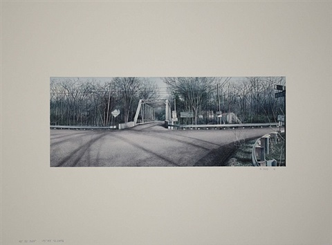 "40° 35' 9.639"" -75° 53' 42.5502"" (iron bridge, route 143) by matthew daub"