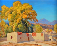 alcalde, new mexico by sheldon parsons