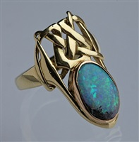 an important & previously unrecorded fabulous liberty & co ring by archibald knox