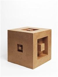 cardboard sculpture by erwin heerich