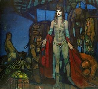 la reina de saba (the queen of sheba) by federico armando beltrán massés