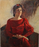 lady in red by lawrence nelson wilbur