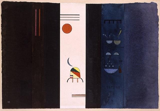 dunkle seiten by wassily kandinsky
