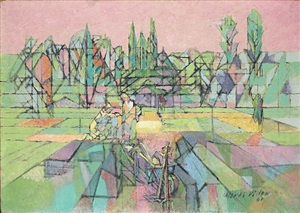 potager la brunié by jacques villon