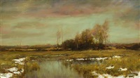 a hint of spring (sold) by dennis sheehan