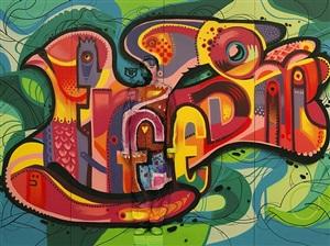 graffiti brussels by liu bolin