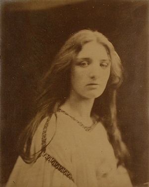 mary ryan, 1865-66, printed c. 1866 by julia margaret cameron