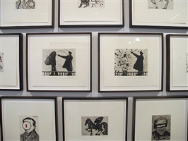 william kentridge prints installation view