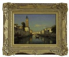 venetian view by antoine bouvard