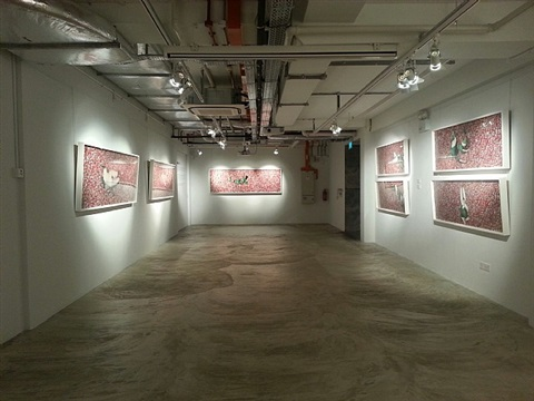 installation view - tian taiquan 2 by tian taiquan