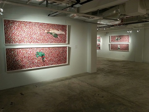 installation view - tian taiquan 5 by tian taiquan