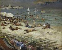 la plage by marcel dyf