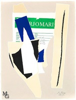 america- la france variations ix by robert motherwell
