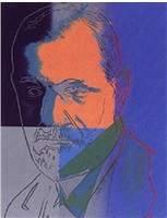 freud by andy warhol