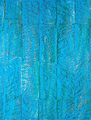 untitled (block rubbing 14) by sam falls