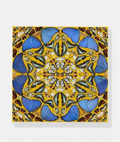 psalm 89: misericordias domini by damien hirst