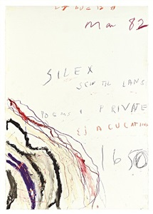 cy twombly on paper by cy twombly