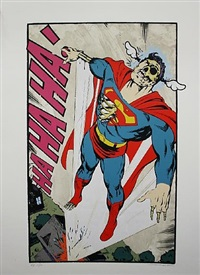 ha, ha, ha not so superman by d*face