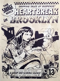 heartbreak in brooklyn by faile