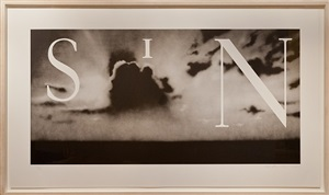 sin (without) by ed ruscha