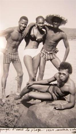 groupe damis sur la plage by malick sidibé