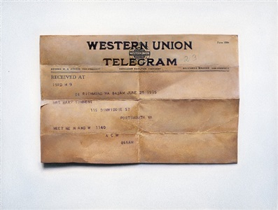 telegram (meet me n and w) by claire kerr
