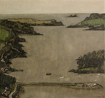 castlehaven, grey day by john kelly