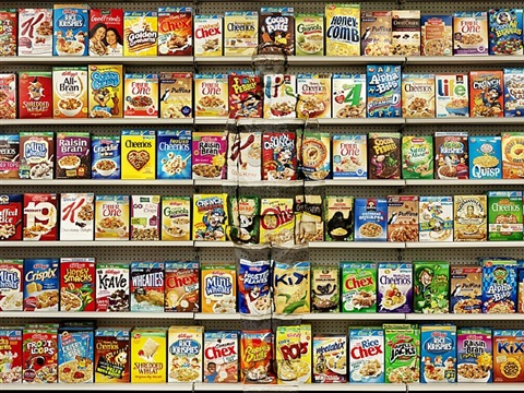 hiding in new york no. 8 - cereal by liu bolin
