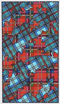 untitled 807 (tartans) by lordy rodriguez