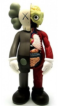 dissected companion 4ft brown by kaws