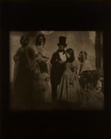 group of seven at lacock abbey, april 1844 by hiroshi sugimoto