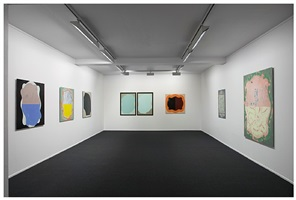 'himmelstykke for tiepolo / sky pieces for tiepolo', installation view by mari slaattelid